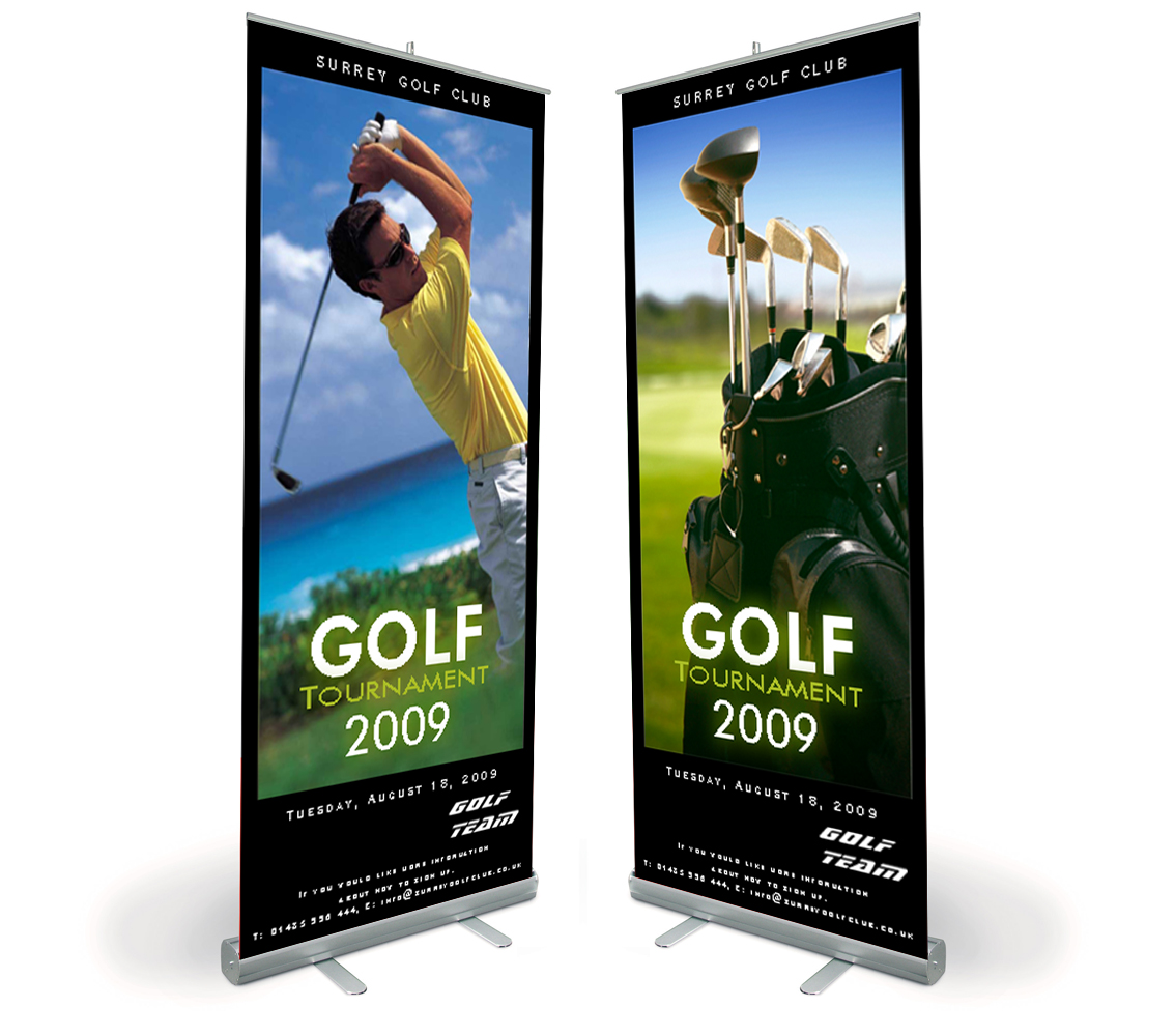 pop roll up banners konica minolta digital camera