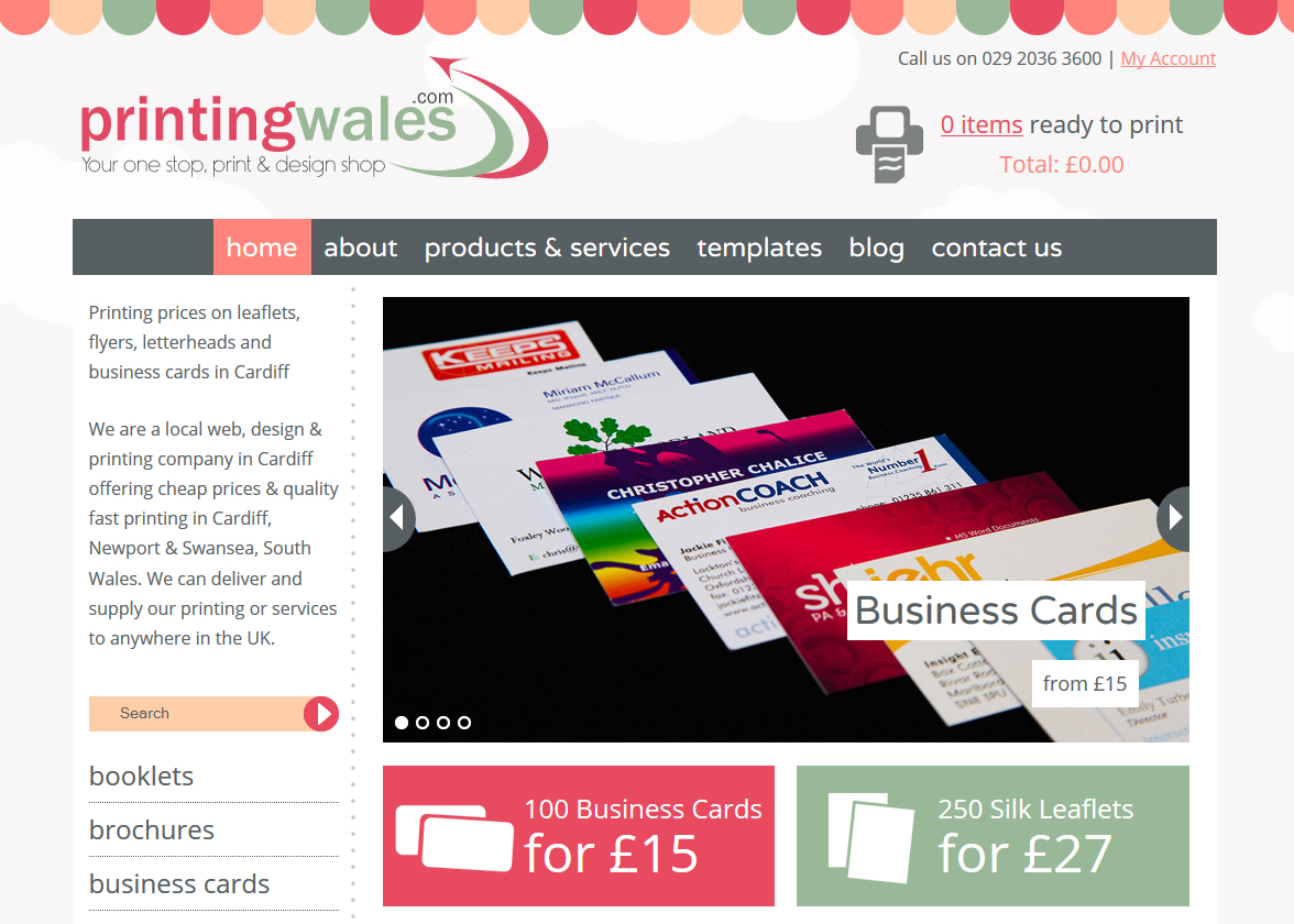 Cheap Business Cards with Free Delivery Cardiff UK
