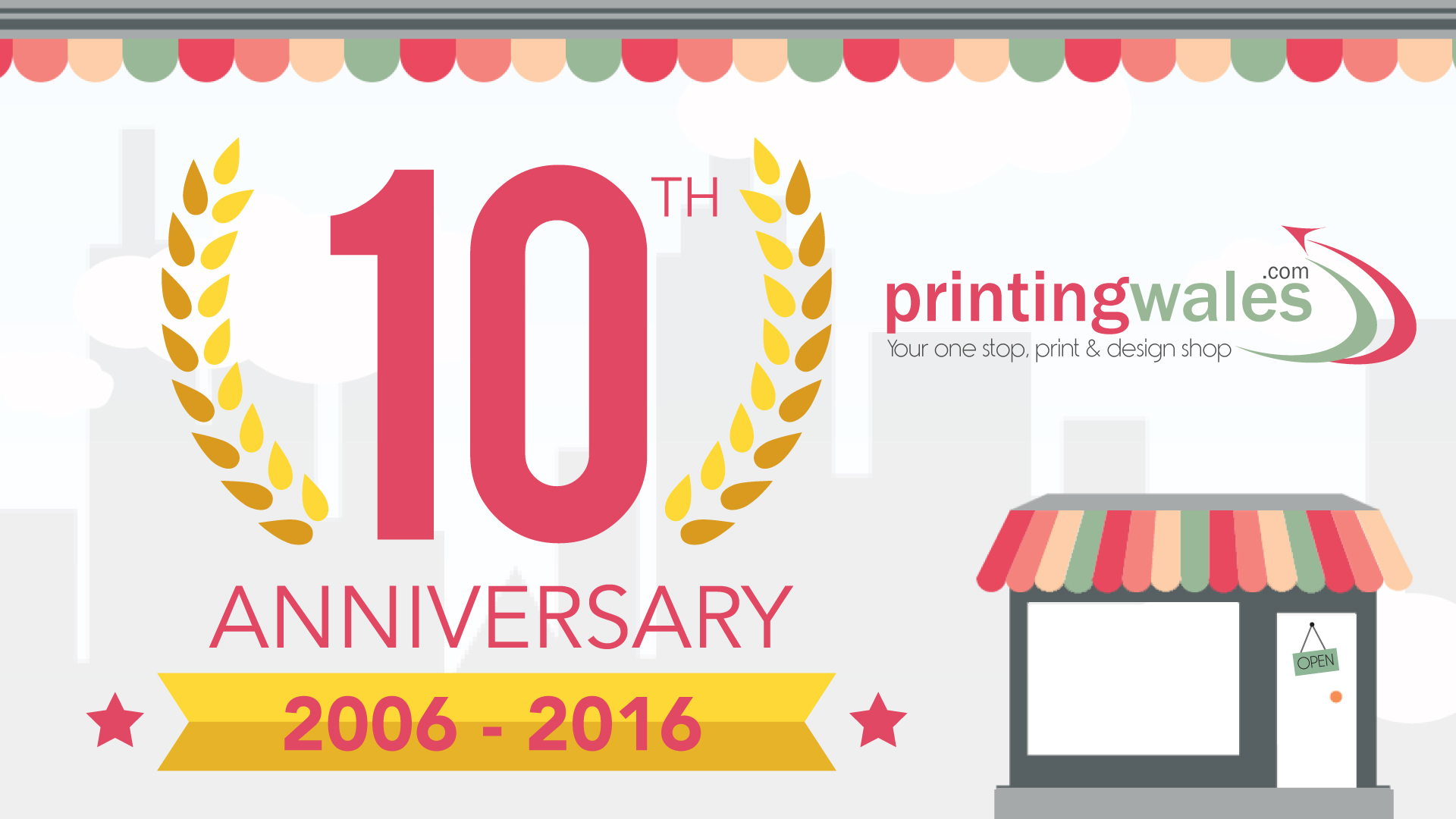 Celebrating 10 Years In Business Printing Solutions In Cardiff