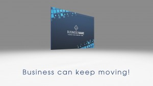 Business can keep moving