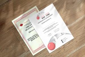 certificate of achievements