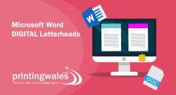 Microsoft Word Digital Letterheads