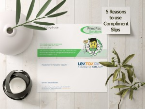 5 Reasons to still use Compliment Slips in 2021